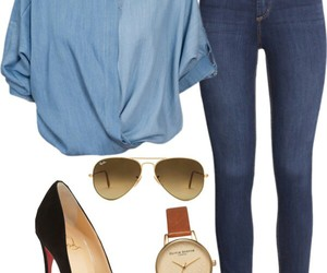 fashion, gold, and sandals image