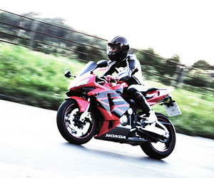fast, motocycle, and red image