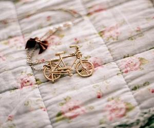 adorable, bike, and glitter image