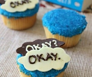 cupcake, okay, and the fault in our stars image
