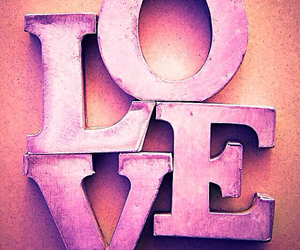 love and purple image