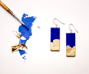 accessories, artwork, and blue image