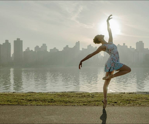 ballerina, dance, and ballet image