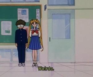 sailor moon, girl, and weirdo image