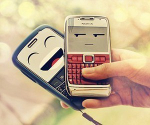 phone, nokia, and funny image