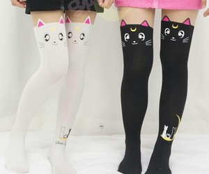 cat, cute, and sailor moon image
