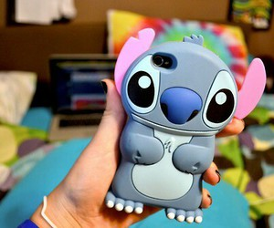 stitch, iphone, and case image