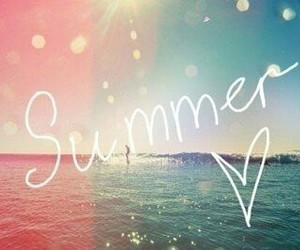 summer, ♥, and ♡ image