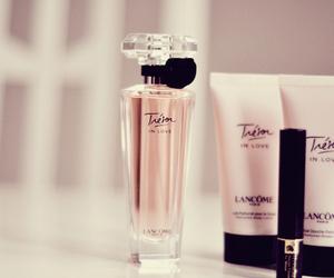 perfume, pink, and lancome image