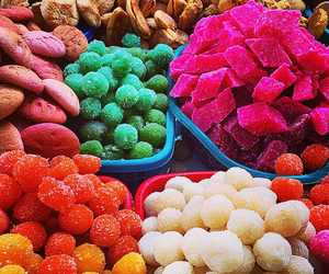 candy, colorful, and sweets image