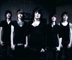 asking alexandria, danny worsnop, and ben bruce image