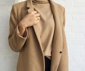 brown, coat, and inspirations image