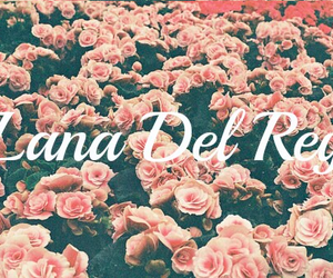 flower print, flowers, and lana image