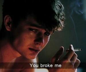 boy, broke, and sad image