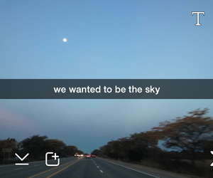 grunge, pale, and sky image