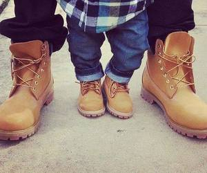 baby, shoes, and timberland image