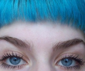 eyes, grunge, and blue image