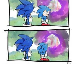 emotional, sonic, and Sonic the hedgehog image