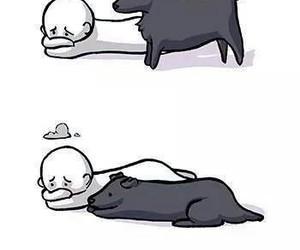 amor, perro, and reality image