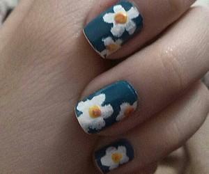 art, flores, and nail art image