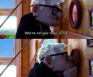 disney, up, and movie quote image