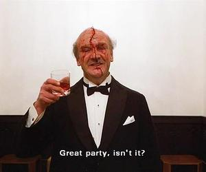 party, The Shining, and blood image