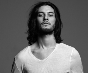 ben barnes, black and white, and Hot image