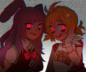 bunnie, girls, and five nights at freddy's image