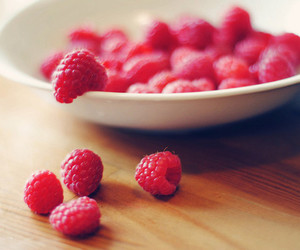 berry, food, and raspberries image