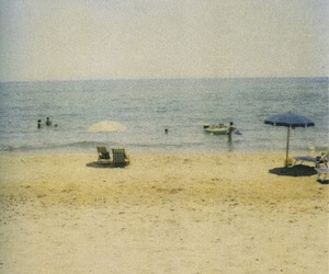 beach, simple, and vintage image