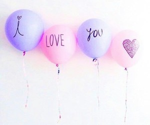 balloon, pastel, and cute image