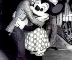 michael jackson and minnie mouse image