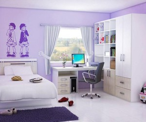 bedroom decorating, small bedroom design, and master bedroom design image