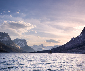 mountains, nature, and sea image