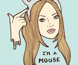 mean girls, mouse, and duh image