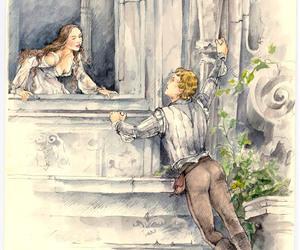 balcony, juliet, and romeo image