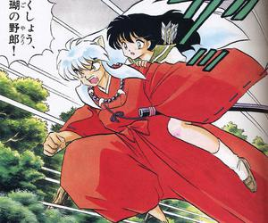 kagome, anime, and couple image