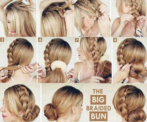 big, hair, and braided image