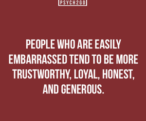embarrassed, honest, and psychology image