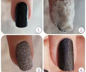 nails, black, and flour image
