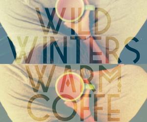 calm, coffee, and lyric image