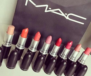 lips, lipstick, and mac image
