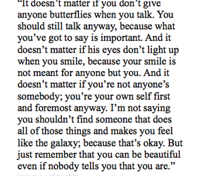 quote, beautiful, and butterflies image