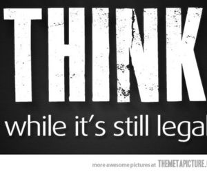 think, legal, and quote image