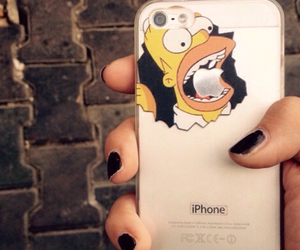 apple, homer, and cute image