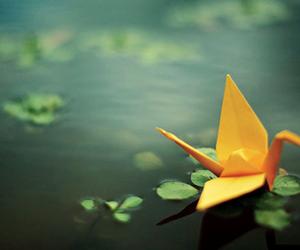 crane, origami, and para laila image