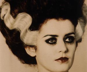 Bride of Frankenstein and magenta image