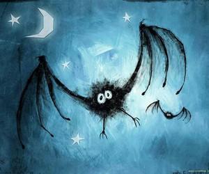 bat, Halloween, and night image