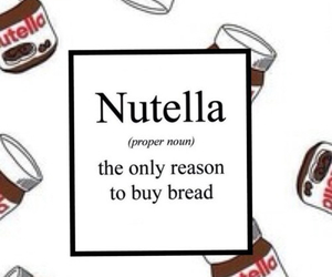 nutella and bread image
