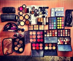 beauty, make up, and mac makeup image